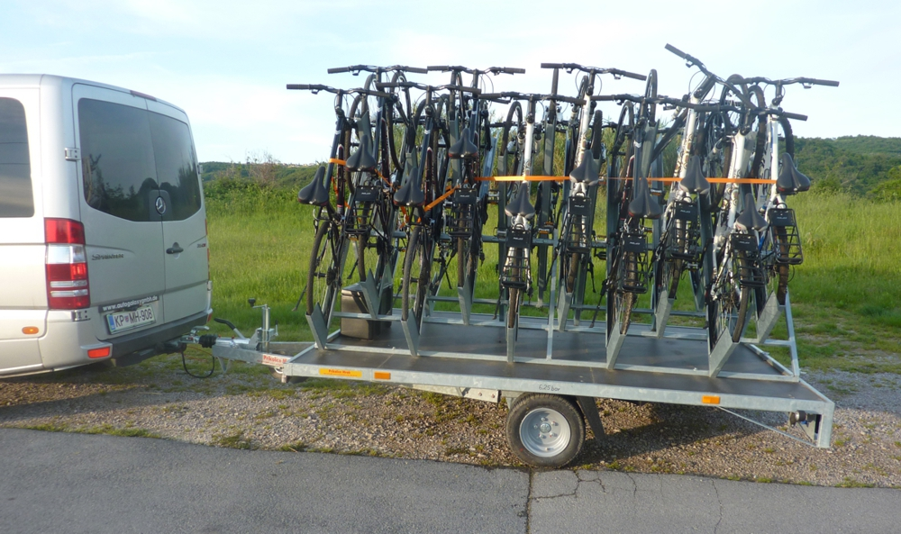 Fahrrad Bike Taxi Transport