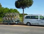 Taxi Piran - Trailer for 20 bicycles, a carrier for 4 bikes